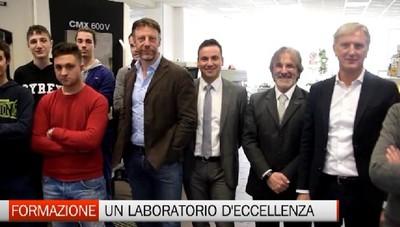 La formazione professionale al Padronato si arricchisce con un nuovo laboratorio di meccanica