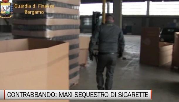 Stezzano. Sequestrate 3 tonnellate di sigarette di contrabbando