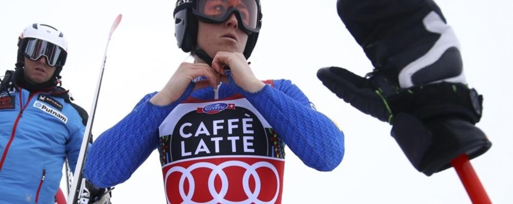 Sofia Goggia, l'attesa è ormai finita Pronta a scendere in pista a Garmisch