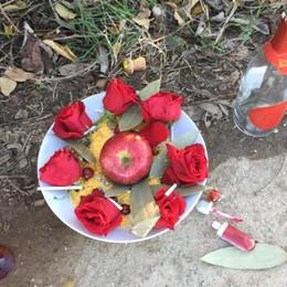 Zanica, quel piatto-dono nel prato... È un'antica tradizione afrobrasiliana