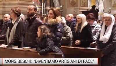 Celebrazioni del 1° gennaio - Monsignor Beschi: Diventiamo artigiani di pace