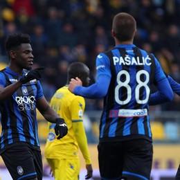 Frosinone-Atalanta 0-5, Zapata ne segna addirittura quattro