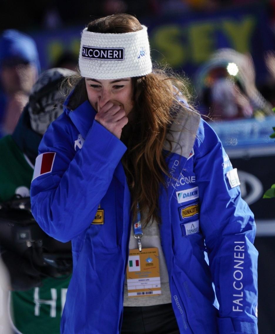Lindsey Vonn in lacrime, drammatico annuncio dopo la gara