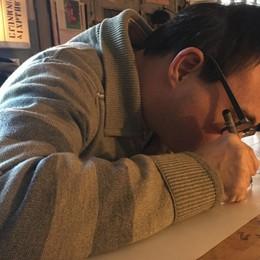Vena artistica e allegria contagiosa Il suo «cecello» fa il giro del mondo