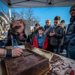 Festa del cioccolato, tradizione da gustare Sul Sentierone quattro giorni per i golosi