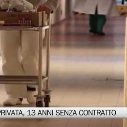 Sanità privata -  Tredici anni senza contratto, manifestazione dei sindacati