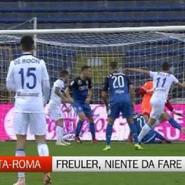 Atalanta-Roma, niente da fare per Freuler Salterà la super sfida di domenica