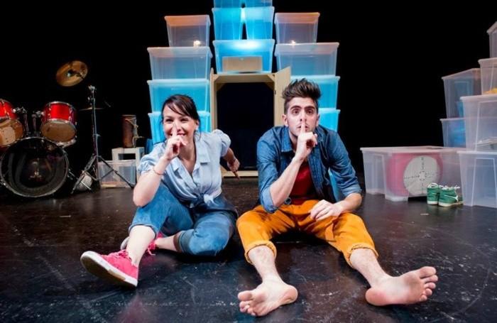 Sofia Licini e Marco Menghini in «Mondo di silenzio»