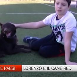 Gente e Paesi, la storia del piccolo Lorenzo e del cane Red