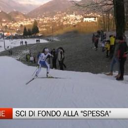 Clusone, sci di fondo con Martina Bellini alla Spessa