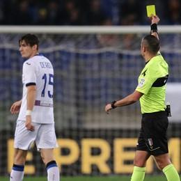 Meno di 2 cartellini a partita: l'Atalanta è la squadra meno punita