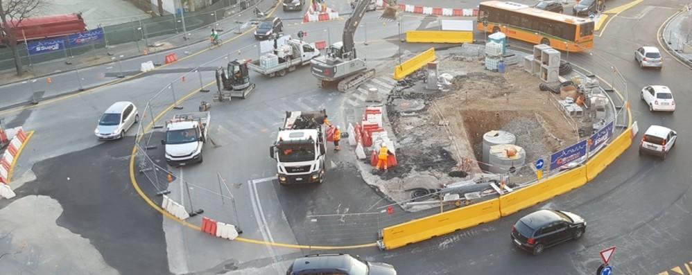 La zona della Malpensata cambia faccia Un video che spiega il primo mese di lavori