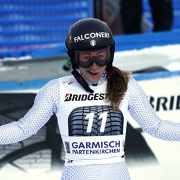 Sofia Goggia torna ed è subito seconda Capolavoro in SuperG a Garmisch