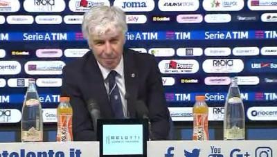 Atalanta - Gasperini soddisfatto della partita contro la Roma. E sul match contro la Juve: Si può fare, abbiamo lo spirito giusto