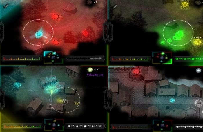 Elescape, uno dei primi titoli realizzati da BerGame basato sulla manipolazione degli elementi