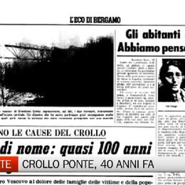 Crollo Ponte di Brembate 40 anni dopo, i ricordi dell'ex sindaco e di Vittorio Feltri