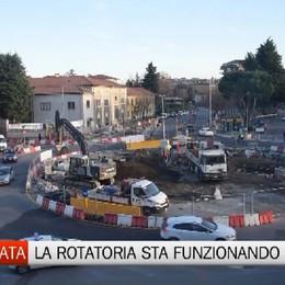 Malpensata - Buone notizie: la rotonda funziona
