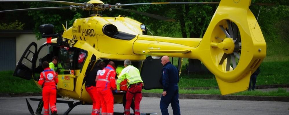 Grave incidente in montagna a Ardesio 22enne ricoverato in prognosi riservata