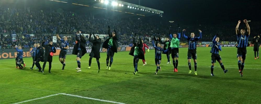 «Atalanta, sei gioia e orgoglio Bello vedere Bergamo felice»