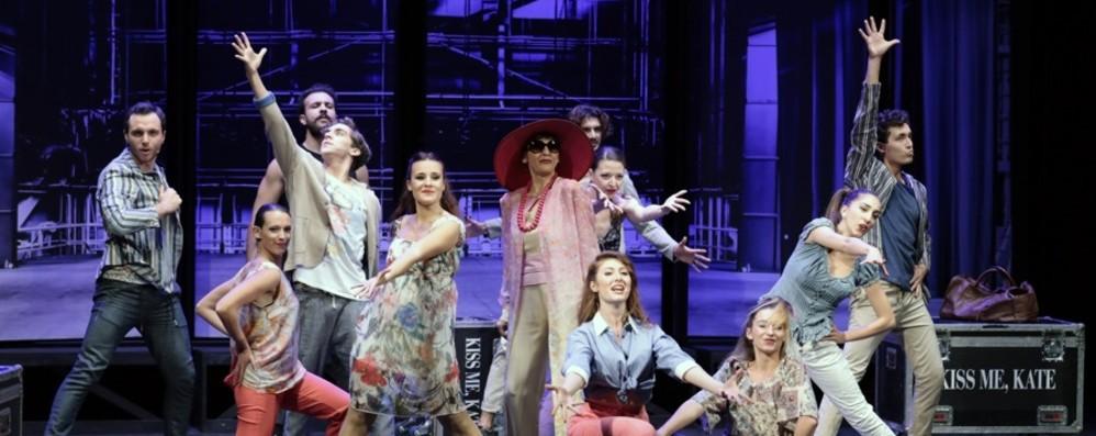 Il musical «Kiss me, Kate» In scena al Creberg Teatro