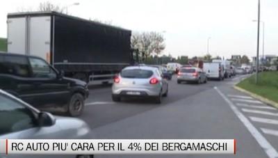 Assicurazioni - Rc auto più cara per il 4% dei bergamaschi
