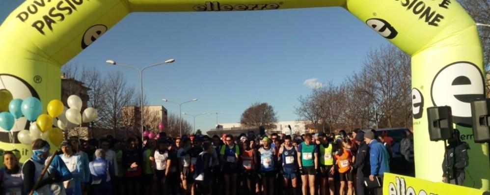 In 900 alla Mezza maratona sul Brembo I primi classificati e il video della partenza
