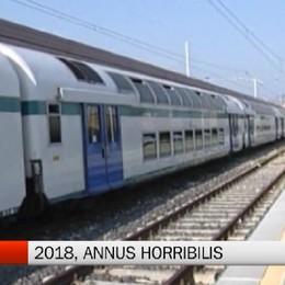 Treni - 2018, annus horribilis per i pendolari bergamaschi