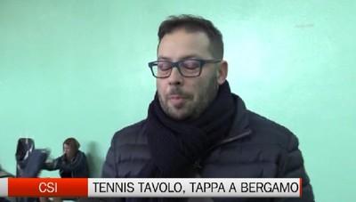 Csi - Il tennis tavolo fa tappa a  Bergamo