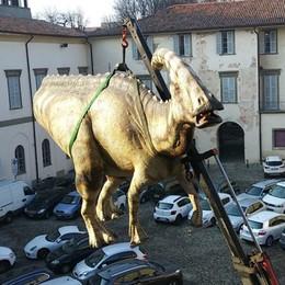 I dinosauri lasciano Bergamo «95 mila visitatori: un successo»