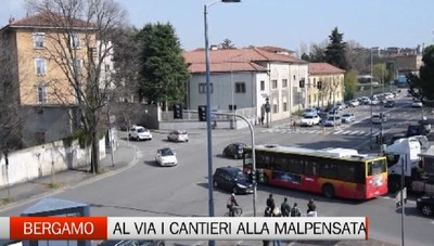 Bergamo: apre il cantiere per l'ex gasometro insieme alla nuova rotatoria