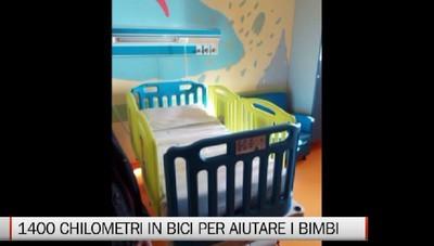 Bergamo-Taranto - Una pedalata lunga tutta l'Italia per aiutare i bambini