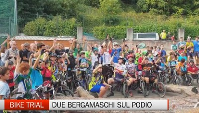Bike Trial: due bergamaschi sul podio