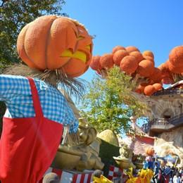 Melissa Satta a Gardaland apre Magic Halloween