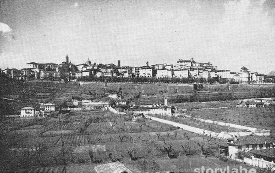 Bergamo, quei prati diventati città In un secolo è cambiato (quasi) tutto