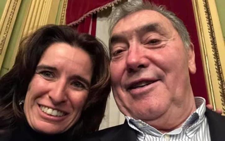 Paladina, Merckx a casa Gimondi L'omaggio discreto all'amico-rivale