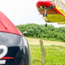 Scivola e precipita per 300 metri Muore 60enne sul Resegone