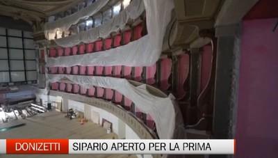 Teatro Donizetti: presto sipario aperto