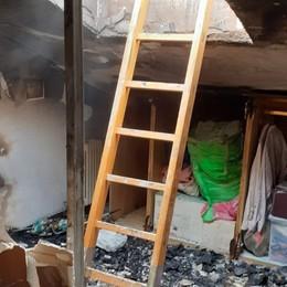 Trescore, fuoco in un'abitazione Salvata dalle fiamme una donna di 55 anni
