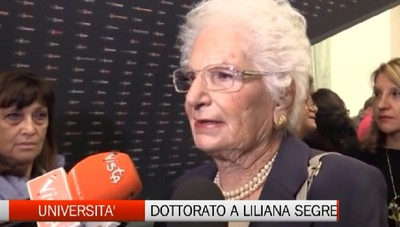 Università - Dottorato honoris causa a Liliana Segre