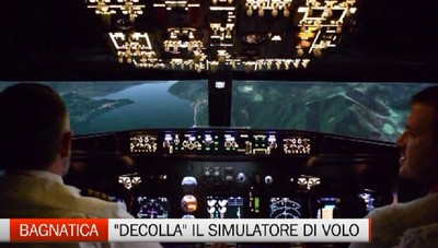 A Bagnatica decolla il simulatore di volo