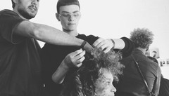 A Londra hairstylist per le grandi star