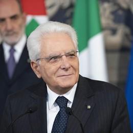 Bentornato presidente Mattarella L'attesa dei giovani bergamaschi