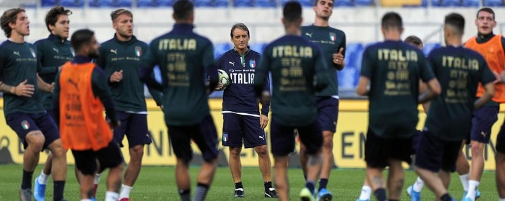 Bravo Mancini e bello il verde ma il cuore è azzurro