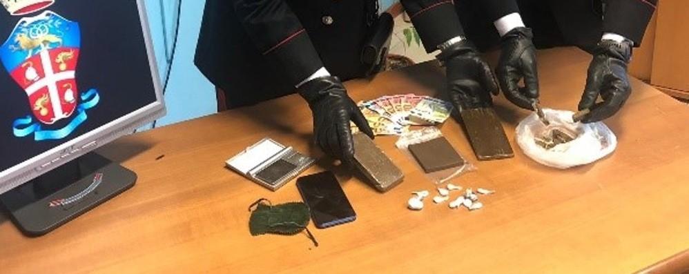 Capriate, arrestato 47enne  Spacciava cocaina in centro