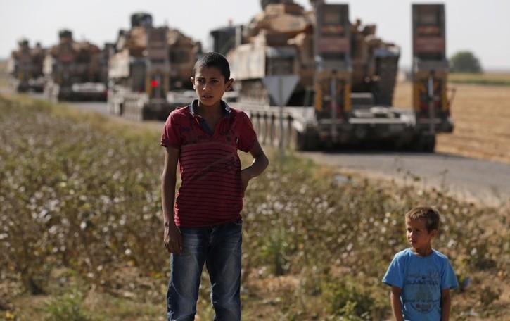 I bambini della Siria vittime innocenti