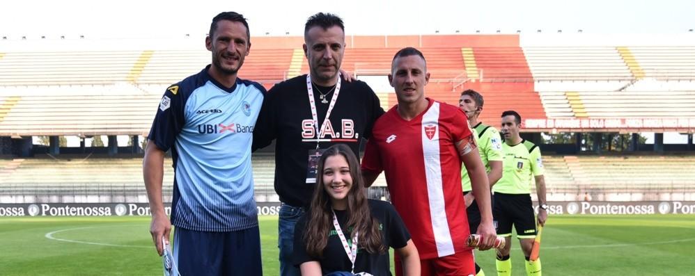 In campo  la solidarietà vince sempre AlbinoLeffe e Monza, sfida per Letizia