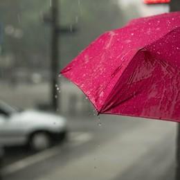 La pioggia è arrivata, ma durerà poco Rovesci autunnali a singhiozzo