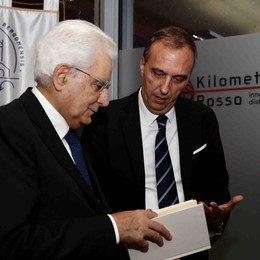 L'Università incontra il Capo dello Stato Galileo al centro dell'incontro
