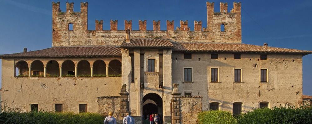 Malpaga oscura Visita notturna al castello