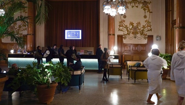 San Pellegrino, tuffo nel liberty  QC Terme apre anche nel casinò